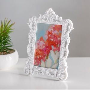 White Baroque Vintage Ornate Frames!